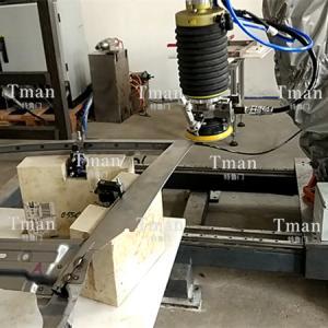 汽车车门焊缝自动打磨工作站