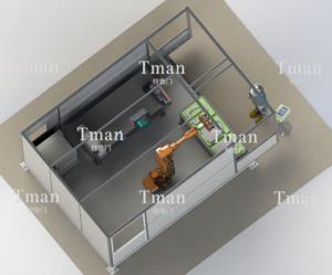 马桶盖自动化打磨系统