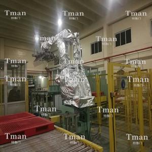 IRB660机器人加热亚美国际平台注册,零下30度使用,保证机器人正常运行