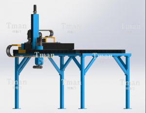 亚美旗舰厅式五轴钻孔铣削机械手
